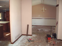 Dining Room (before), Mariotti Renovation 2006